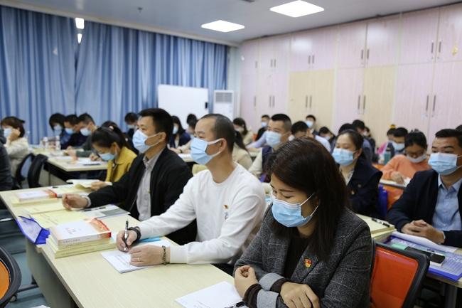 自治区人才服务中心党委掀起党史学习教育热潮